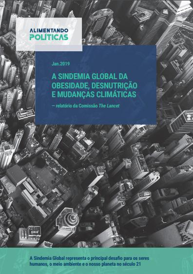 Capa Relatório Completo The Lancet em Português